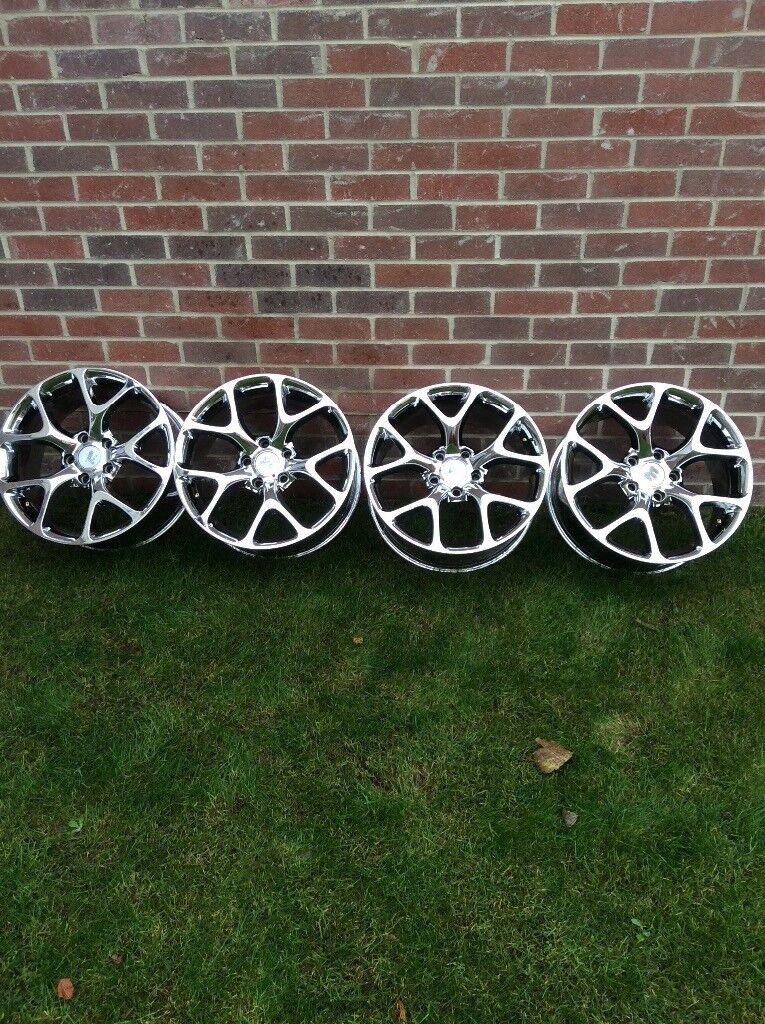 18'' alloy wheels , vauxhall insignia
