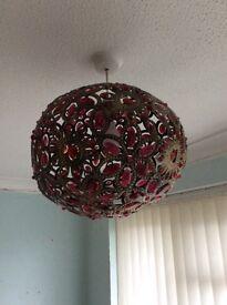 Beautiful ceiling light from Dunelm