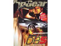 """Top Gear Magazines,Jun 06-Feb 08. 21 issues inc.007 Super Aston DBS issue. """"MAKE AN OFFER"""" !!!"""