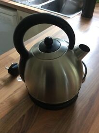 Dome kettle - brushed stainless steel