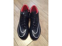 Black Nike Football Boots - Size 10
