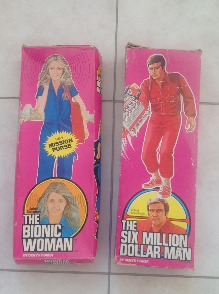 SIX MILLION DOLLAR MAN & BIONIC WOMAN COLLECTABLES