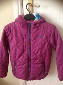 Girls reversible coat age 10/12 years