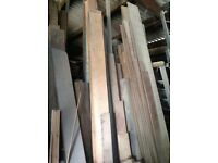 Hardwood timbers bulk quantities