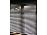 3 New Faux Wooden Blinds or can sell Individually