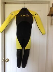 Childs Marlin Wetsuit. (approx Age 5-8 years)