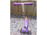 Micro Mini Scooter in purple