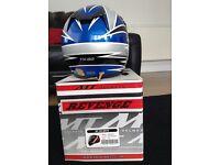 Takachi motor cross helmet