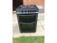 Logic 600mm free standing gas cooker
