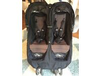 Baby jogger city mini double pram buggy