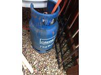 7kg blue calor Gas bottle with regulator