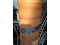 NEW VINYL 9.50m LENGTH BY 2M WIDE wood effect ( WILL FIT IN MOST CARS WITH THE SEATS DOWN