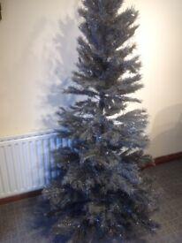 Christmas tree 6 ft grey