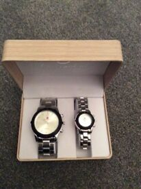 Luis Cardini His & Hers Watch Set