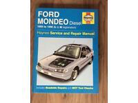 Ford Mondeo Diesel 1993-96 Haynes manual