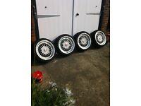 "Dare BBS RS 18"" Alloy Wheels 5x112 Audi VW Etc £400 ono"