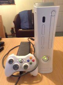 Xbox 360 console + 80GB Hard drive + 1 x wireless Controller