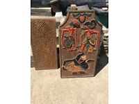 Antique Indonesian Wood Carvings from Bali