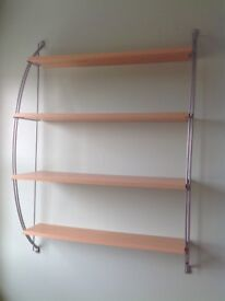 Three different size book shelves which can be used in downstairs rooms or bedrooms.