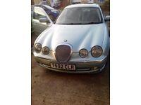 Jaguar s type 3.0 (LPG!!! 57p ltr) Auto leather.