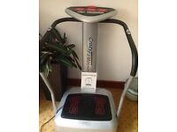 Vibro Exercise Plate Crazy Fit Exercise Machine Almost New