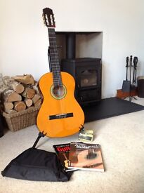 Classical Guitar with Extras