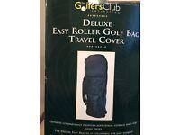 Deluxe Easy Roller Golf Bag Travel Cover