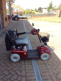 Shoprider Mobility Scooter for sale. This has been barely used and is in full working order