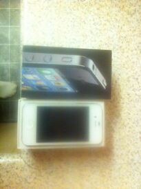 iPhone 4s 8gb in white