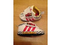 Adidas Disney Cars Trainer/Pram Shoe