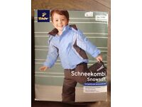 BRAND NEW boxed Tchibo salopettes & ski jacket 6-12 months £5 HAROLD HILL