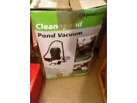 Pond Vacuum complete with attachments.