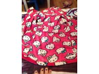 Girls 4-5 yrs housecoat excellent condition