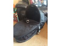 ICandy Apple Carrycot / Moses Basket LIKE NEW / HARDLY USED