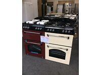 Leisure gas cooker gourmet new graded 12 months gtee RRP £549