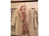 Girls ted baker coat 3-4 years £20