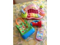 Bundle of Musical/Interactive Toddler Toys