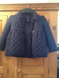 Ralph Lauren girls quilted jacket age 6