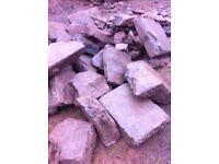 Flat Angus stone