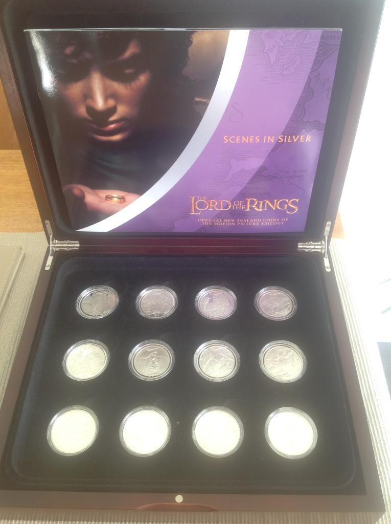 Lord of the Rings collectible coins