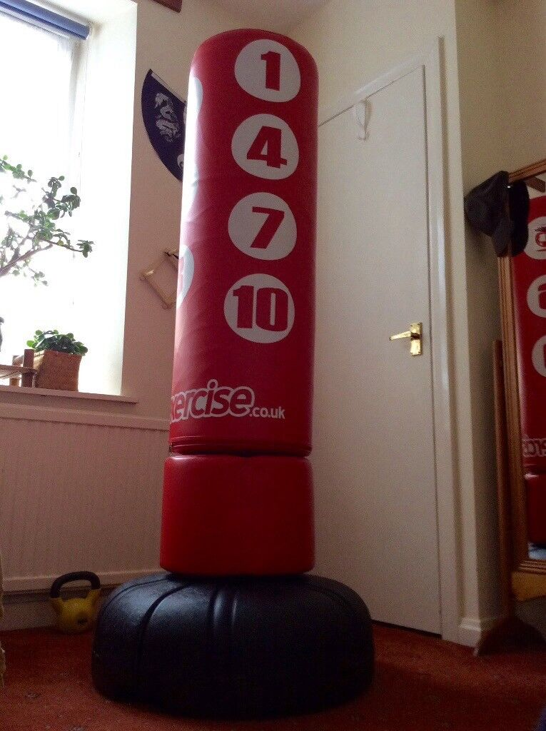 free standing punch bag 170cm