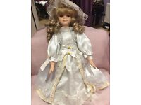 Beautiful doll for Christmas gift