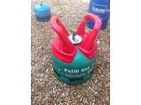 5kg gas bottle BBQ bottle full /