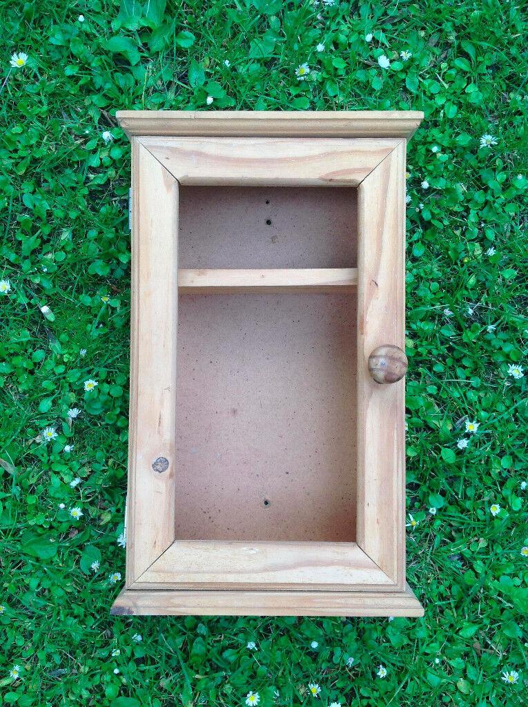 Wooden key cabinet