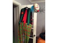 KIDS CLOWN HALLOWEEN COSTUME