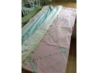 Next single bed set with matching curtains