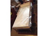 BRAND NEW IKEA SINGLAR Childs bed with new sealed mattress only £40 NEW PRICE