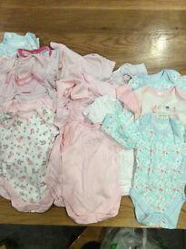24 baby vests
