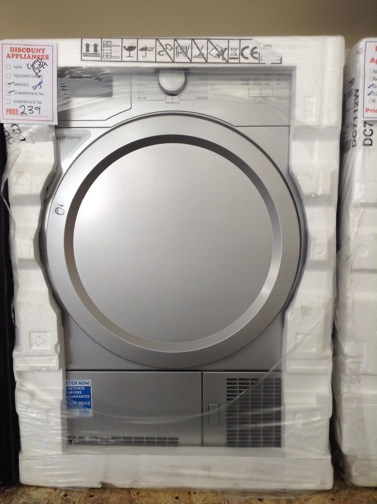 Energy efficient dryer Currys price £299 12 month Gtee