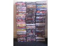 Around 200 dvds
